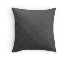 Carbon Fiber pattern Throw Pillow