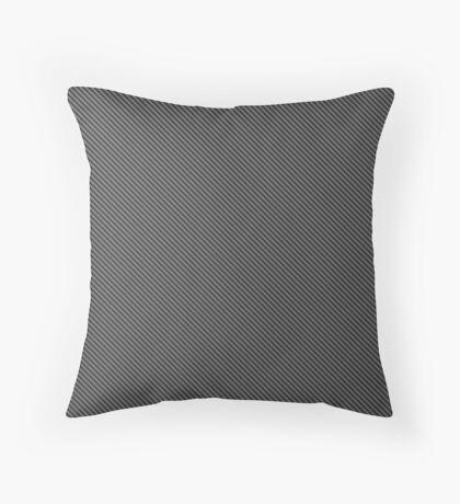 Carbon Fiber pattern Throw Pillow