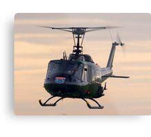 Huey Helicopter Metal Print