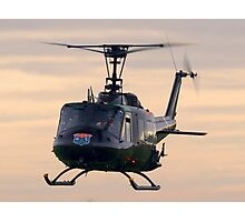 Huey Helicopter Photographic Print