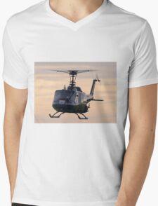 Huey Helicopter Mens V-Neck T-Shirt