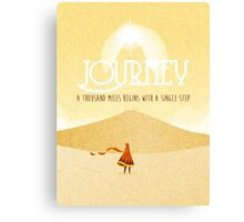 Journey PS4 Canvas Print