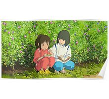 Spirited Away - Studio Ghibli Poster