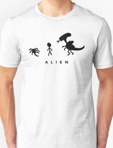Alien. (BLACK) Unisex T-Shirt