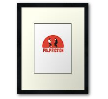 Pulp fiction Dance Framed Print
