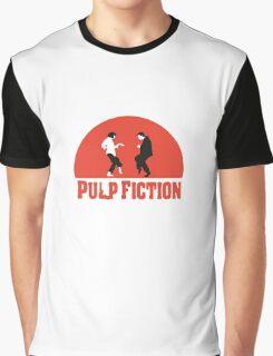 Pulp fiction Dance Graphic T-Shirt