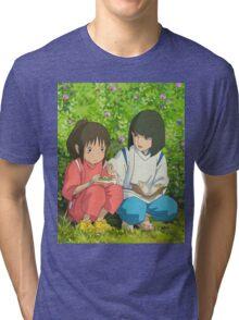 Spirited Away - Studio Ghibli Tri-blend T-Shirt