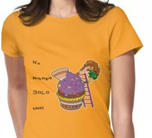 Solo uno... Womens Fitted T-Shirt