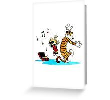 Calvin and Hobbes Funny Greeting Card