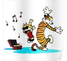 Calvin and Hobbes Funny Poster
