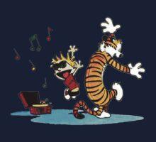 Calvin and Hobbes Funny Kids Tee