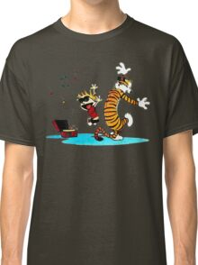 Calvin and Hobbes Funny Classic T-Shirt