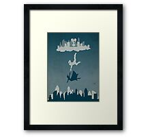 Bioshock Infinate - Solid Background Framed Print