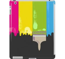 Paint and paint brush iPad Case/Skin