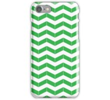 ZIGZAG GREEN iPhone Case/Skin