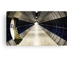 space station / tube station Canvas Print