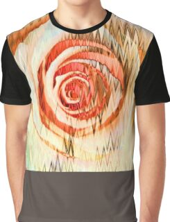Rose Abstract Graphic T-Shirt