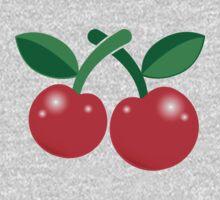 Super cute red cherries  One Piece - Short Sleeve