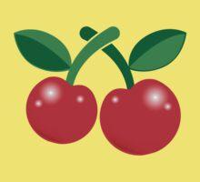 Super cute red cherries  Baby Tee