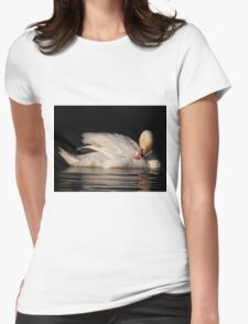 Preening Time Womens Fitted T-Shirt