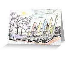 Melbourne Museum Greeting Card