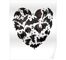 Bat Heart Poster