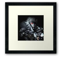 Metal Gear Solid Raiden Framed Print