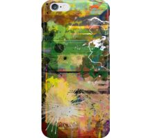 Abstract Attack iPhone Case/Skin