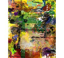 Abstract Attack Photographic Print