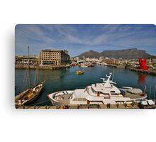 Cape Town Harbourfront Canvas Print
