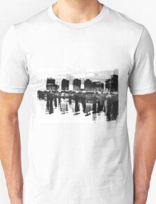 Docklands Melbourne B&W Unisex T-Shirt