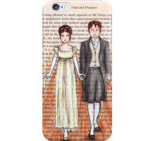 Elizabeth Bennet and Mr Darcy iPhone Case/Skin