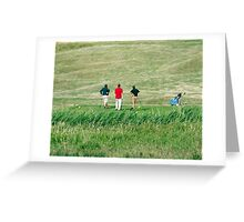 The Trials and Tribulations of Golf Greeting Card