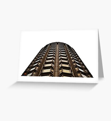 Modernist hotel in central london Greeting Card