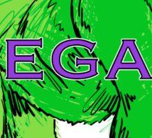 Gorilla Green Sticker