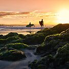 Two Surfers by Cheryl Styles