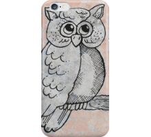 Who Gives A Hoot iPhone Case/Skin