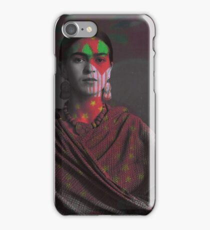 Spirit of art (frida) iPhone Case/Skin