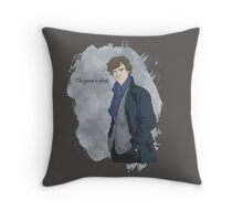 The game is afoot! Throw Pillow