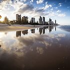 Broadbeach, Gold Coast, Australia by Daniel Rankmore