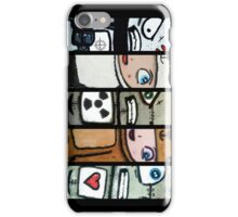War Dog Status Characters iPhone Case/Skin