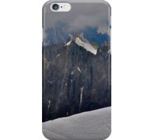 Mont Blanc - Highest Mountain in Europe iPhone Case/Skin