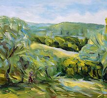 Spring in Tuscany by TerrillWelch