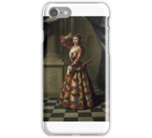 MRS. HESTER BOOTH AS HARLEQUIN  J.ELLYS PORTRAYED MRS BOOTH   AKA HESTER SANTLOW DANCER AND ACTRESS iPhone Case/Skin