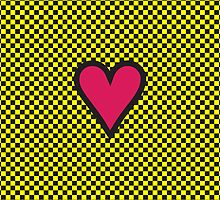 HEART ON THE CHESSBOARD by ak4e