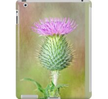 Textured Spear Thistle iPad Case/Skin