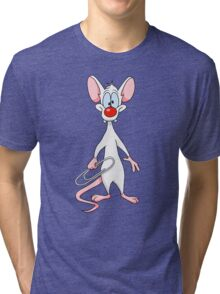 Pinky and The Brain - Pinky Tri-blend T-Shirt