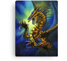 Dragon Fury Canvas Print