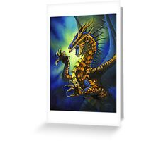 Dragon Fury Greeting Card