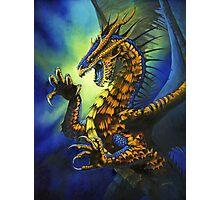 Dragon Fury Photographic Print